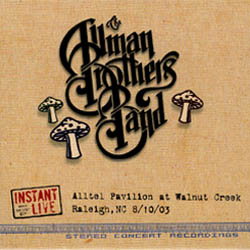 GRAPHIC IMAGE '08/10/2003 Alltel Pavilion at Walnut Creek, Raleigh, NC - album cover'
